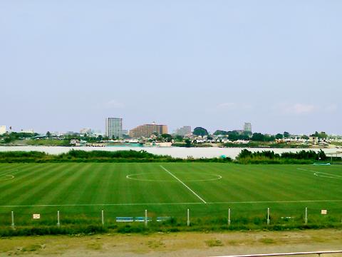 天然芝サッカー場_画像