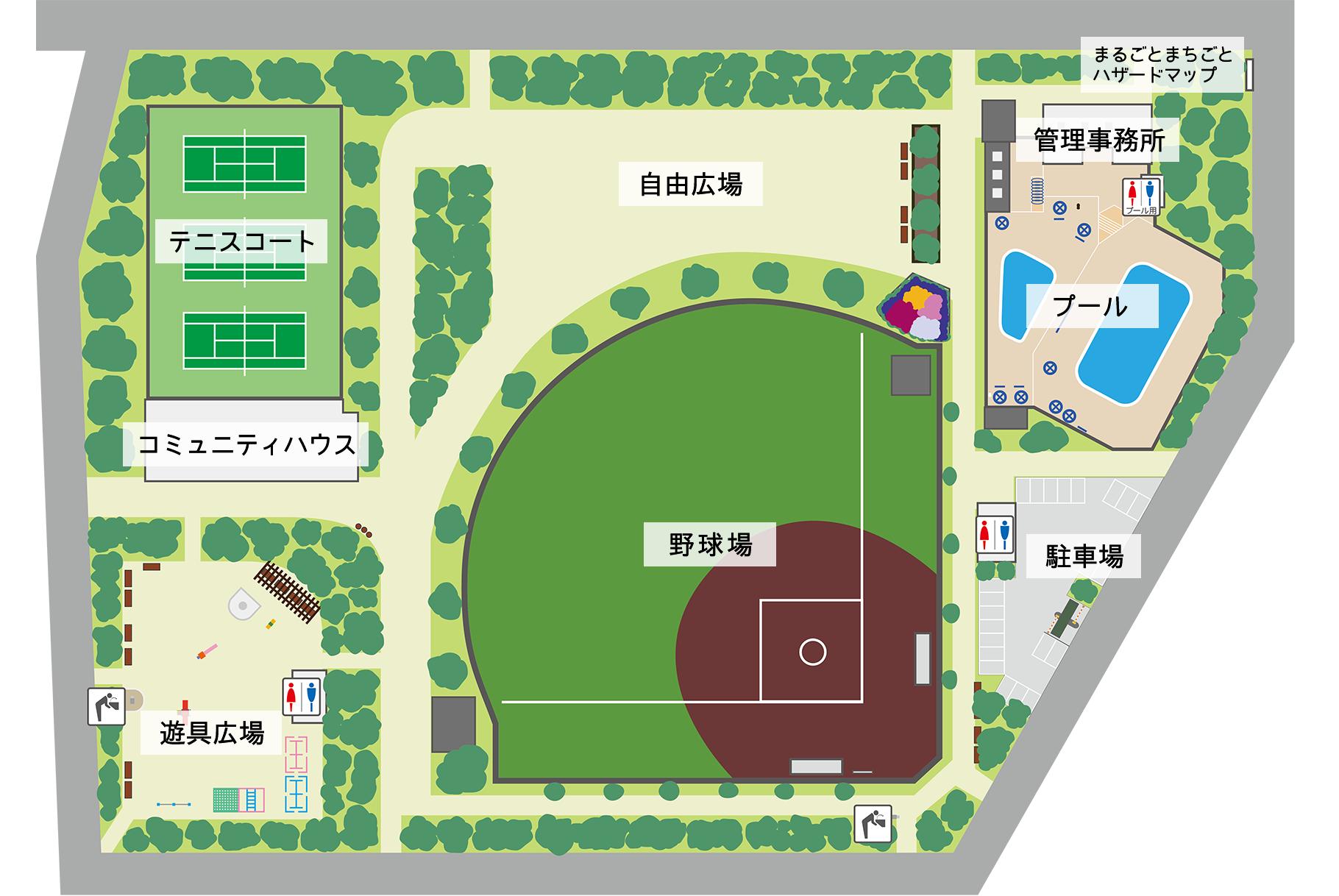 公園マップ画像