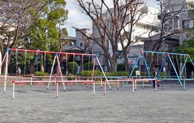 潮田公園遊具広場画像_4