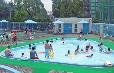 潮田公園プール画像2