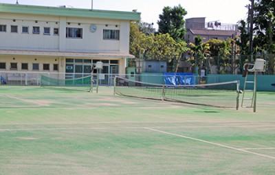 潮田公園テニスコート画像_2
